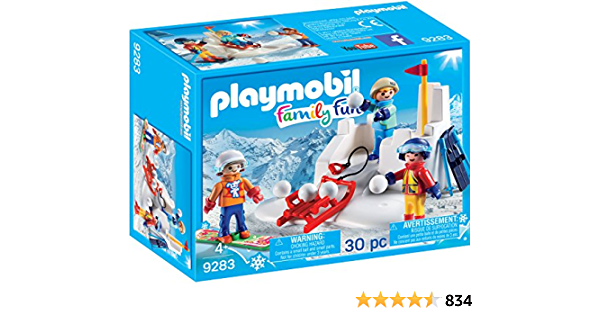 Details about  /Playmobil 123 Burrow Covered in Snow for Animal Shown w// Fox Winter Scene Z37