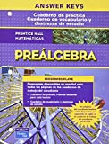 Prentice Hall Math Pre-Algebra Spanish Workbooks Answer Key 2007c