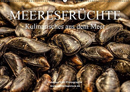 Meeresfrüchte (Wandkalender 2019 DIN A2 quer): Kulinarisches aus dem Meer (Monatskalender, 14 Seiten ) (CALVENDO Lifestyle)