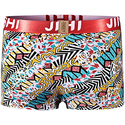 JINSHI Herren Bambusfaser Unterhose Multi-4pack-05