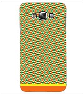 PrintDhaba Diamond Pattern D-1484 Back Case Cover for SAMSUNG GALAXY E7 (Multi-Coloured)