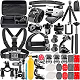 Neewer 53-in-1 Kit for GoPro Hero 7 6 5 4 1 2 3 3+ SJ4000/5000/6000/7000