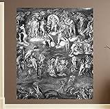 Bilderdepot24 selbstklebende Fototapete Michelangelo - Alte Meister