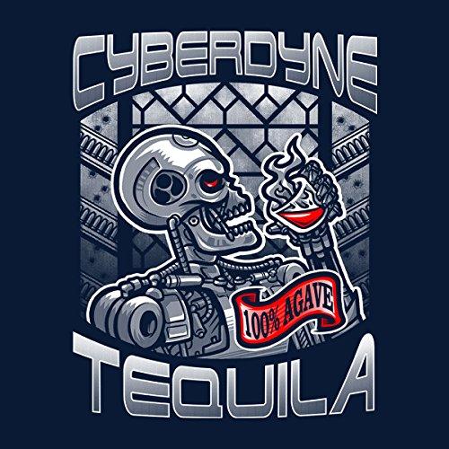 Cyberdyne Tequila Terminator Women's Vest Navy blue