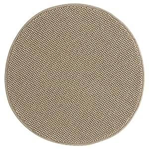 ikea badaren badematte mikrofaser rund luxuri s weich 5 farben sand k che haushalt. Black Bedroom Furniture Sets. Home Design Ideas