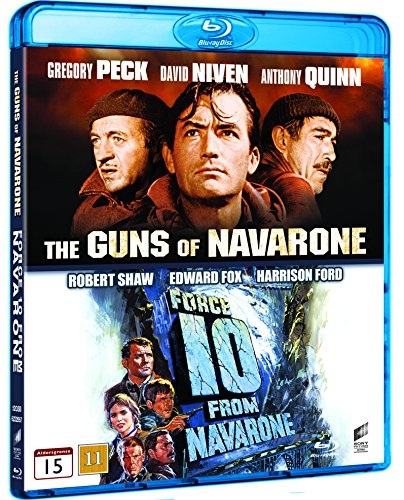 The Guns Of Navarone / Force 10 From Navarone 2 - Disc Collection (Region free Import) Blu Ray (Force 10 Navarone)