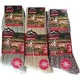 3 X Ladies Women Luxurious Wool Rich Work Winter Warmer Thermal Socks UK 4-7