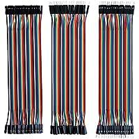 Tonver - Kit de cables de 40 pines macho a hembra, 40 pines macho a macho, 40 pines hembra a hembra