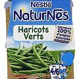 Nestlé - Naturnes - Petits pots haricots verts, dès 4-6 mois - Les 2 pots de 130g - (pour la quantité plus que...