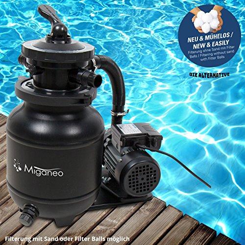Miganeo Sandfilteranlage Dynamic 7000 – mit integrierter Zeitschaltuhr - 3