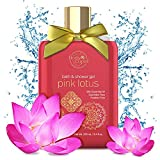 #3: Body Cupid Pink Lotus Luxury Shower Gel - Shea Butter & Pink Lotus Extract for Dewy Fresh Skin - No Sulphates No Parabens - 250mL
