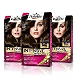 Palette Intense Cream Coloration Intensive Coloración del Cabello 3 Castaño Oscuro - Pack de 3