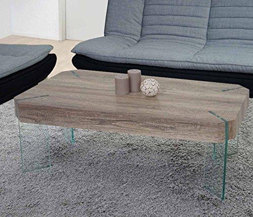 Tavolino da salotto Kos T578 legno di pioppo rivestito 60x110x40cm ...