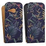 DeinDesign HTC One Mini 2 Tasche Hülle Flip Case Blumen Sommer Bunt
