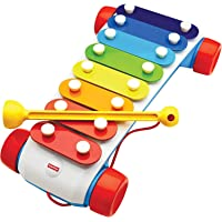 Fisher-Price Original Classic Xylophone, Colour Pull Toy with Music and Sounds!