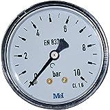 Boutté 2151408 MAW manometer, aansluiting achter, 08 x 13