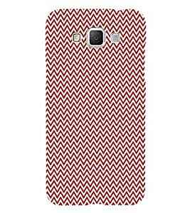 Red Arrow Chevron 3D Hard Polycarbonate Designer Back Case Cover for Samsung Galaxy Grand Max G720