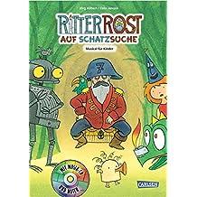 Ritter Rost auf Schatzsuche: Buch mit CD