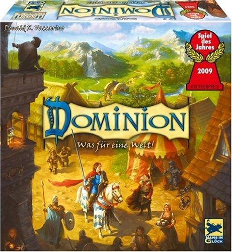 Hans im Glück 48189 - Dominion, Spiel des Jahres 2009 (Dominion Brettspiel)