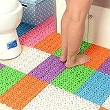 Best Bathtub Mats - Tzs Multipurpose Set Of 16 Pcs Soft Plastic Review