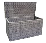 Baidani Gartenmöbel-Sets 10a00023 Designer Kissenbox Ronde, braun