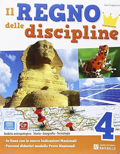 Il regno delle discipline. Area antropologica. Per la Scuola elementare. Con e-book. Con espansione online: 1