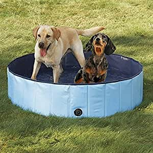 PYRUS Collapsible Pet Bath Pools Large Inflatable Dog Bathtub Foldable Dog Pet Pool Bathing Tub for Dogs or Cat (XL)