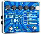Electro Harmonix Stereo Memory Man/Hazarai Pedal für E-Gitarre, silber