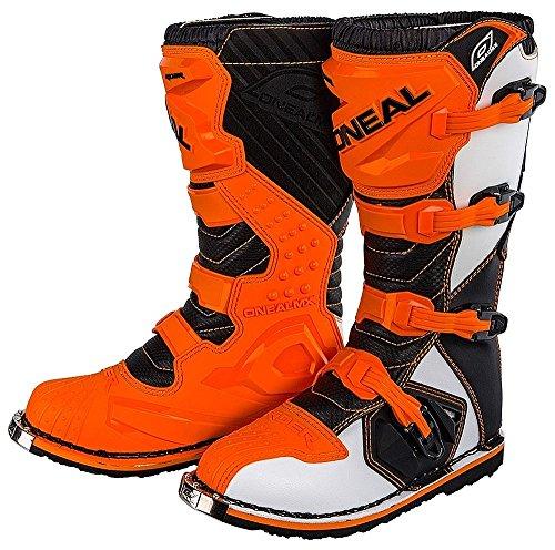 OŽNeal Motocross MX Stiefel Rider Boot orange Gr. 43 (10)