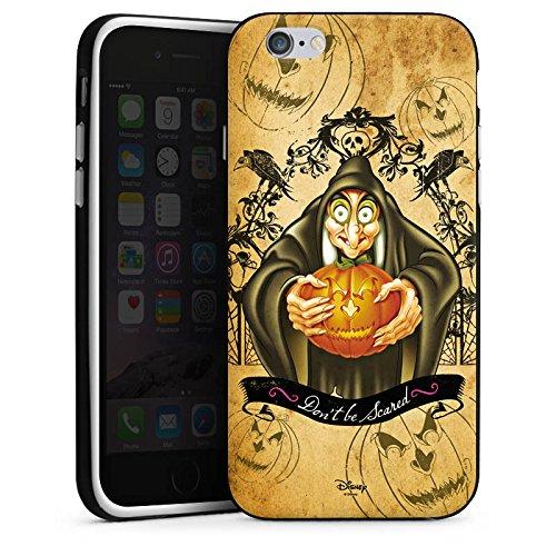 Apple iPhone X Silikon Hülle Case Schutzhülle Disney Schneewittchen Hexe Geschenke Silikon Case schwarz / weiß