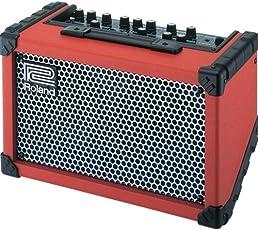Roland Cube Straßen batteriebetriebene stereo-amp (Rot)