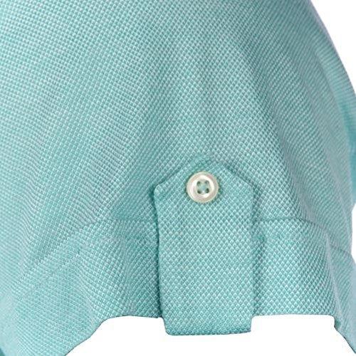 Delsiena -  Polo  - Uomo Turquoise