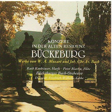Konzert in der alten Residenz Bückeburg - werke von W.A.Mozart und Joh. Chr. Fr. Bach Klang Der Flöten