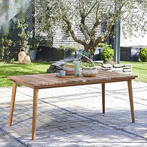 Table de Jardin en Bois de Teck 6 à 8 Places