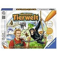Ravensburger-00513-Tiptoi-Spiel-Abenteuer-Tierwelt Ravensburger tiptoi 00513 – Abenteuer Tierwelt -