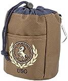 United Sportproducts Germany USG 16050003-260-429 Leckerli-Beutel, Höhe 12 cm, braun/marine