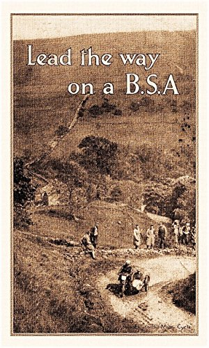 lead-the-way-on-a-bsa-motor-cycle-catalogue-1929-english-edition