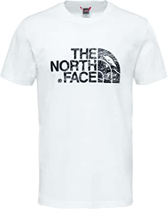 The North Face Woodcut Dome Men's Outdoor T-Shirt