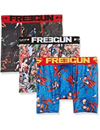 Freegun X3, Boxer Homme, (lot de 3)