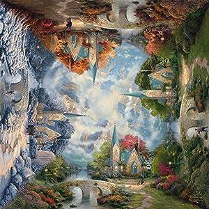 Schmidt Spiele Die Kirche in den Bergen Puzzle - Rompecabezas (Puzzle Rompecabezas, Fantasía, Niños y Adultos, Die Kirche in den Bergen, Niño/niña, 12 año(s))