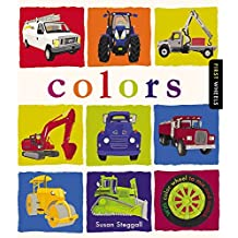 First Wheels: Colors: with color wheel to mix and match by Susan Steggall (2015-10-01)