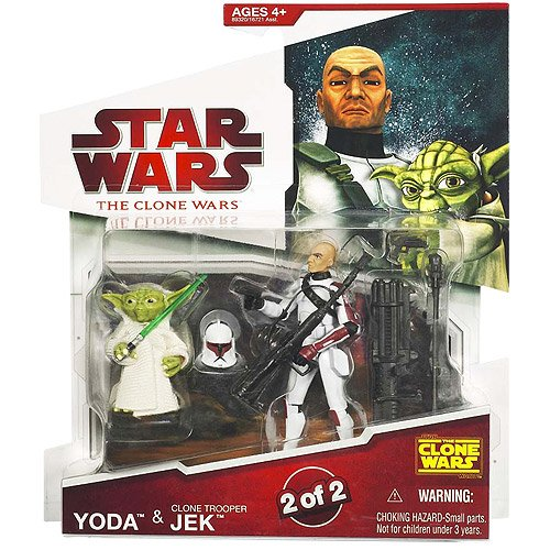 Star Wars Clone Wars - Yoda & Clone Trooper ()
