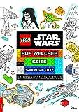 LEGO Star Wars Auf welcher Seite stehst du?: Ein Riesen-Rätselmalspaß