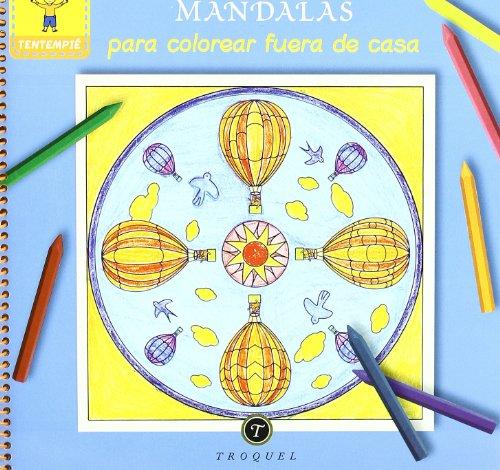 Mandalas Para Colorear Fuera De Casa (Tentempie (troquel)) por Sutra Ress