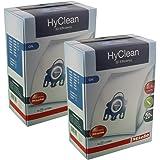 Miele Parts Gen-gnbag Lot de 8 Sacs à poussière Authentiques pour Miele S400 S600 S800 S5000 GN, Blanc, 1 Paquet