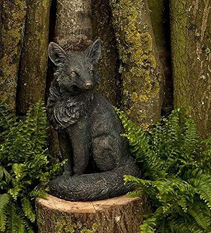 Mr Fox Vintage Large Outdoor Garden Wild Animal Statue Ornament Resin Sculpture