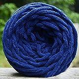Bluelans� 100% Acrylic Soft Chunky Yarn Knitting Wool 100g, available in 17 colours (Dark Blue)