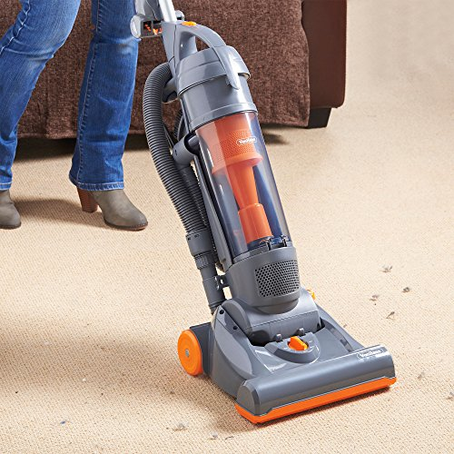 VonHaus 1200W Multi-Cyclonic Bagless Upright Vacuum Cleaner with Turbo/ Pet Brush, Upholstery Tool, Crevice Tool & Wand –