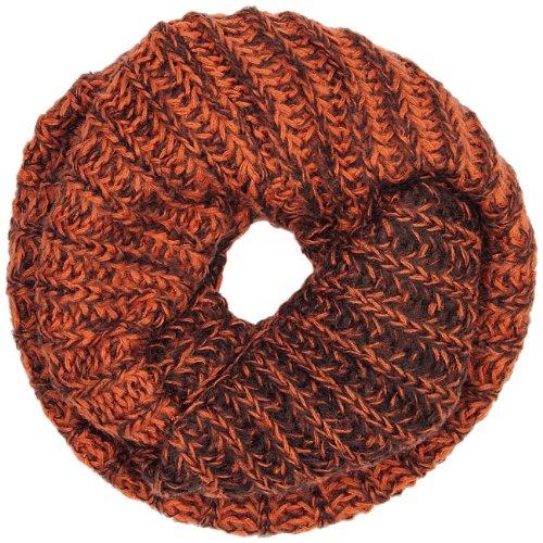 CASPAR - Echarpe tube femme tricoté - Tube avec joli dégradé de couleurs - plusieurs coloris - SC361