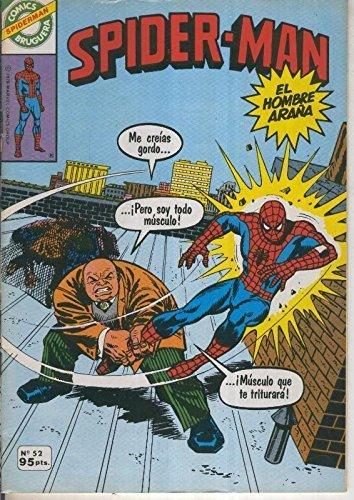 Comics Bruguera: Spiderman numero 52 (numerado 1 en trasera)